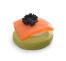 Blinis de Salm�o e Caviar