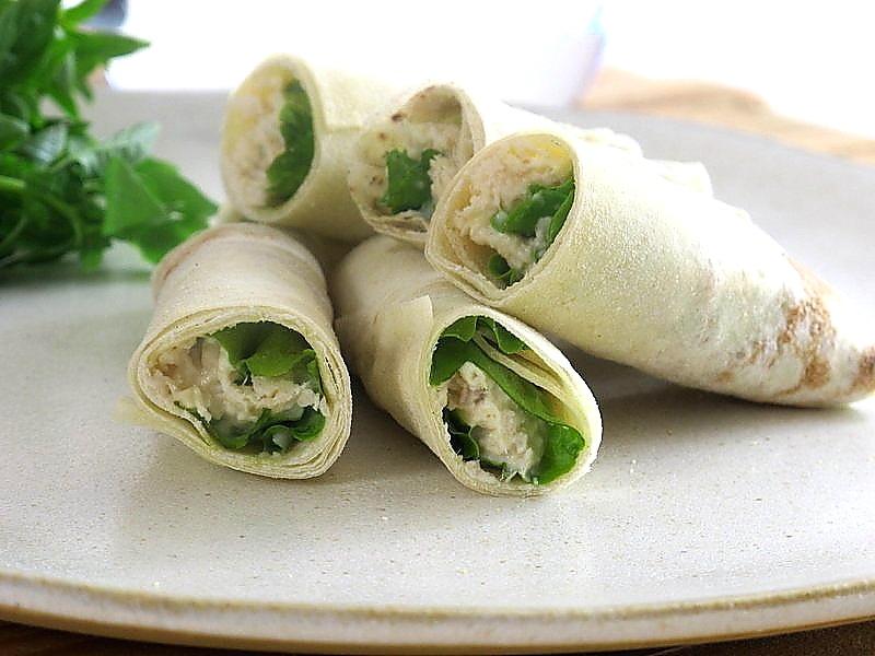 Wrap Caesar salad